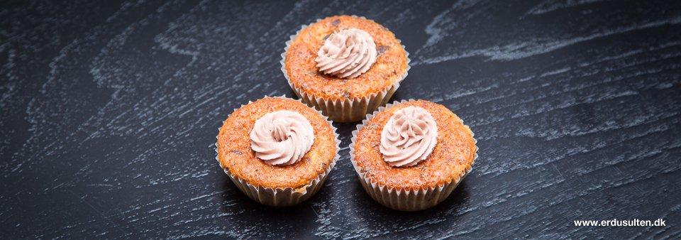 Billede af bananmuffins med chokolade