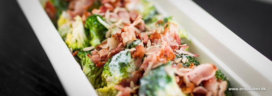 Billede af broccolisalat med bacon