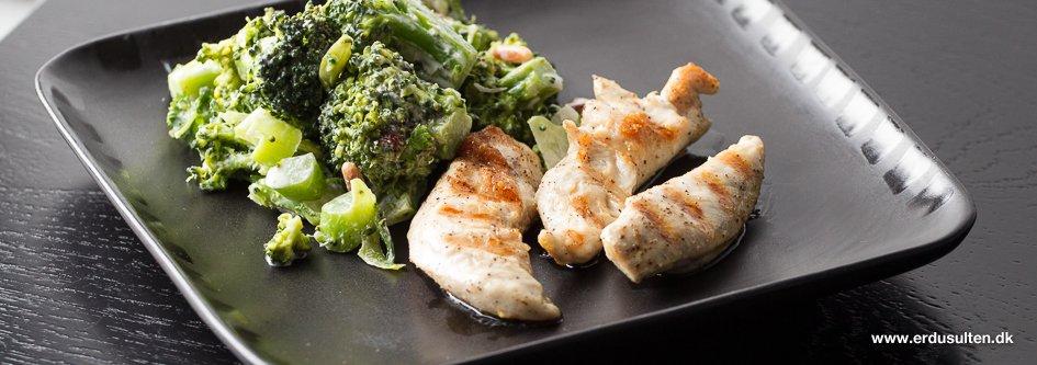 Billede af fedtfattig broccolisalat