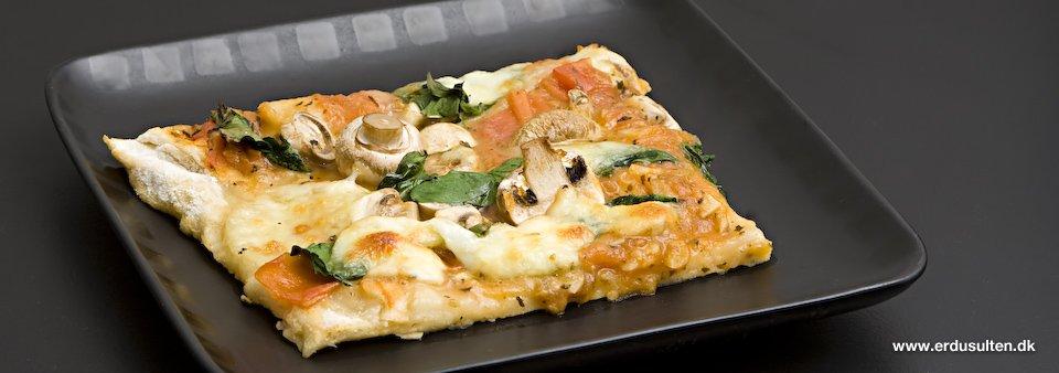 Billede af god pizza