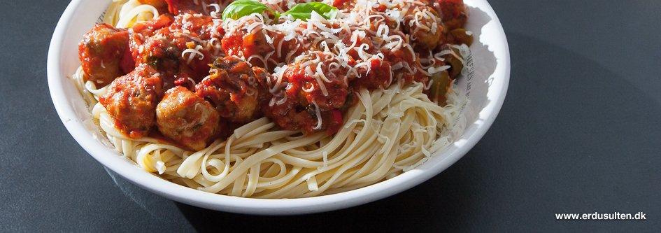 Billede af italienske kødboller