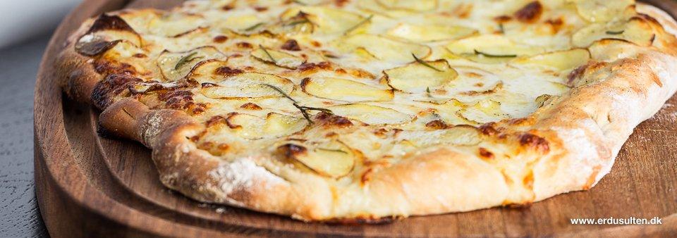 Billede af kartoffelpizza