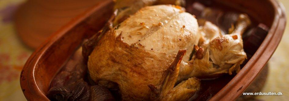Billede af kylling i stegeso