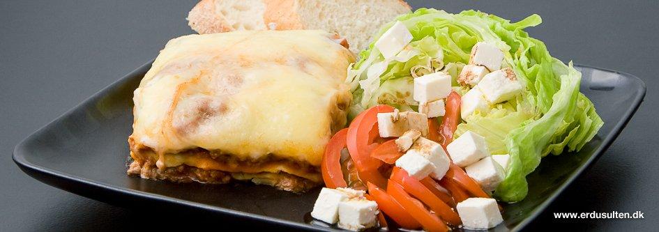 Billede af lasagne
