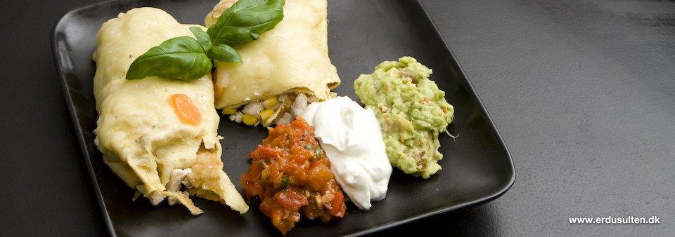 Billede af mexicansk enchilada
