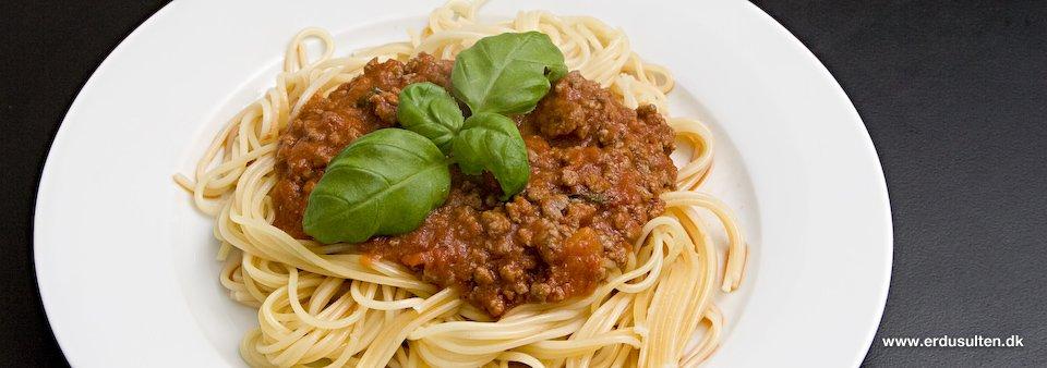Billede af spaghetti bolognese
