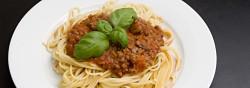 Billede af Spaghetti bolognese fotograferet af Lars Holmgaard