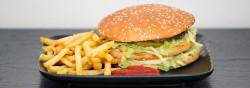 Billede af Hjemmelavet Big Mac burger fotograferet af Lars Holmgaard